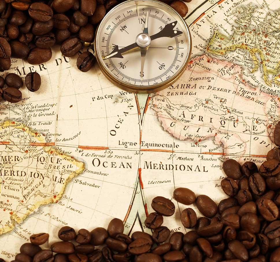 mappa caffè