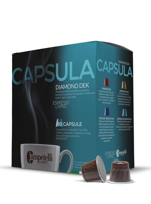 caffè in capsule decaffeinato