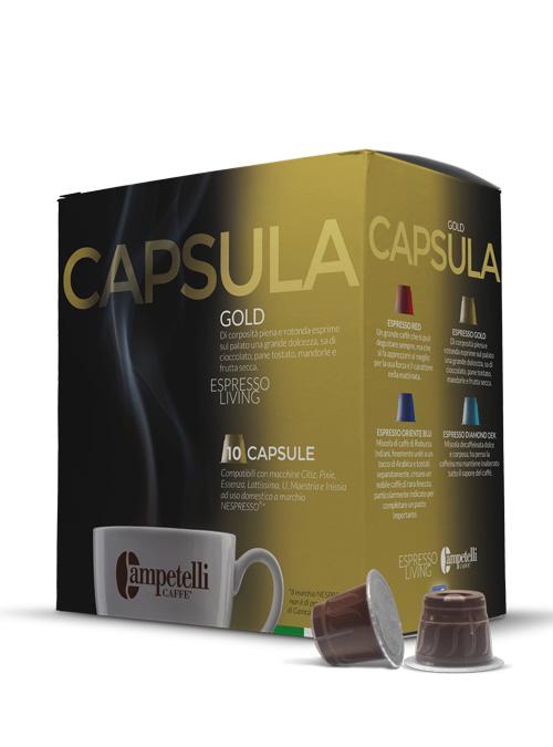 capsule gold