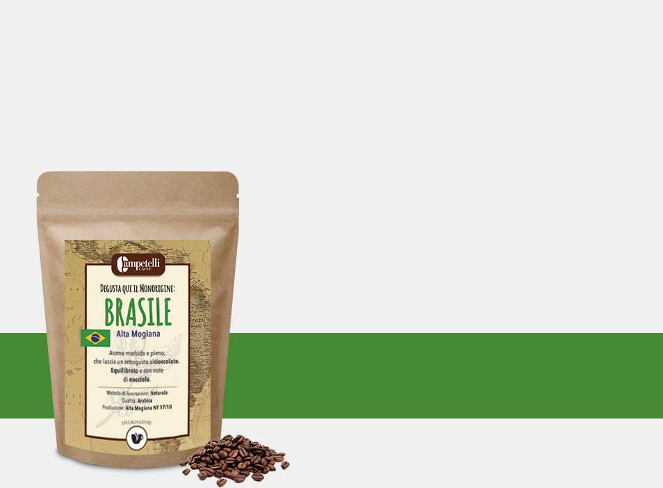 caffè monorigine brasile