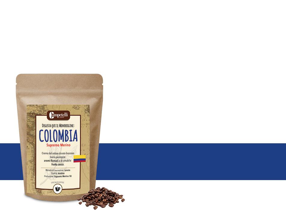 caffè monorigine colombia